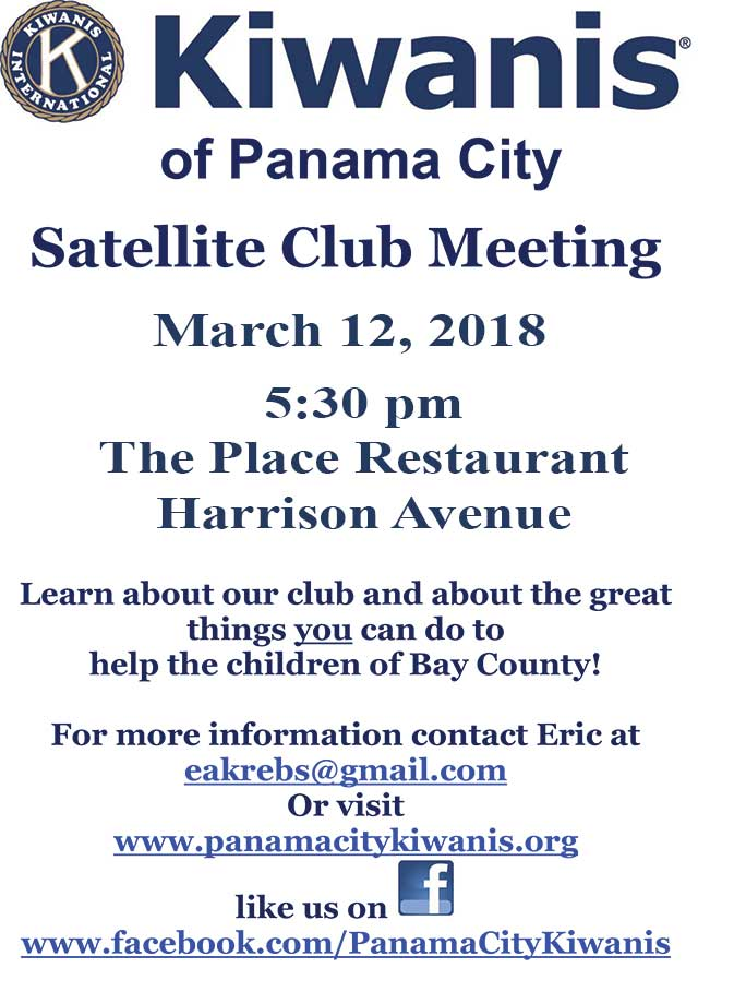 Satellite Club Meeting March 2018